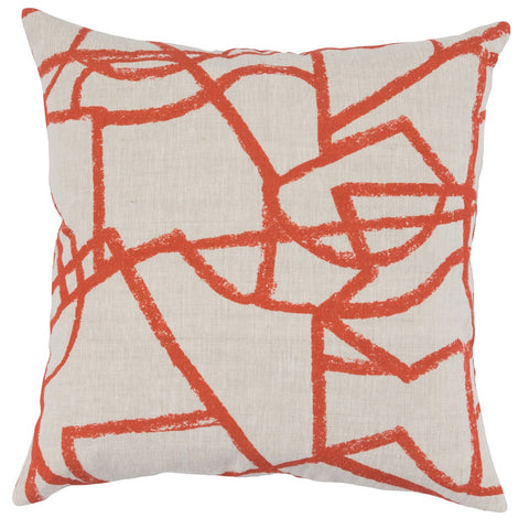 Canyon Persimmon Pillow