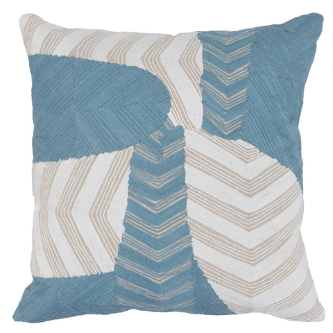 Ryan Blue/Ivory Pillow