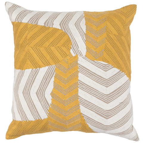 Ryan Sunflower/Ivory Pillow