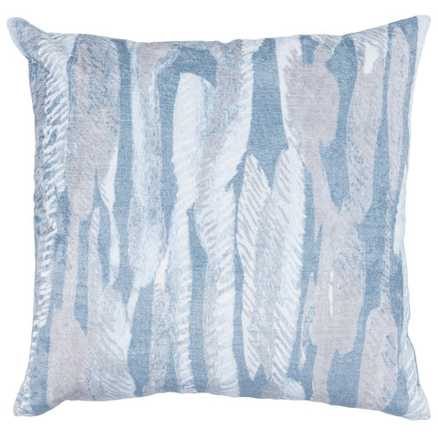 Whitney Rain Blue Pillow