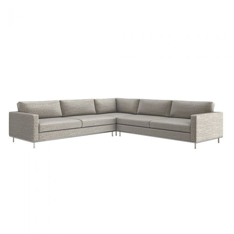 Valencia 3 Piece Sectional in Feather