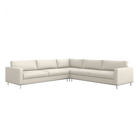 Valencia 3 Piece Sectional in Pearl