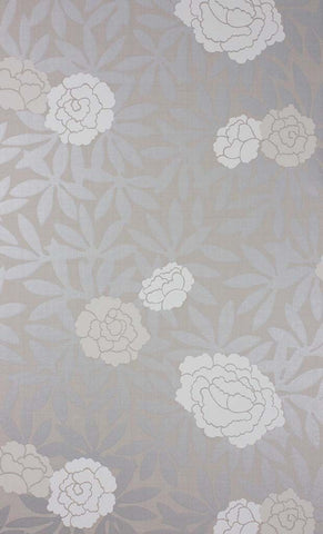 Sample Asuka Wallpaper in gray Color by Osborne & Little
