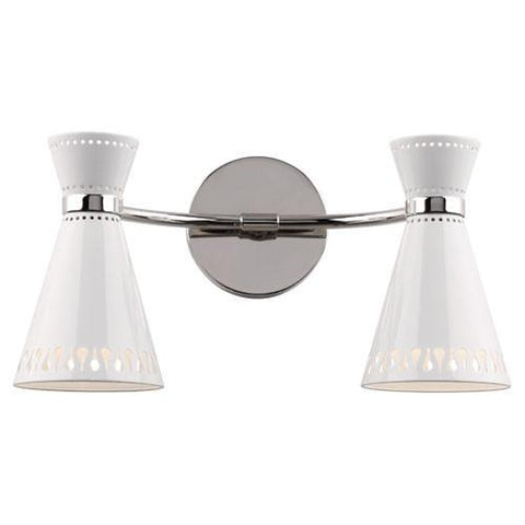 Jonathan Adler Collection Double Sconces design by Robert Abbey