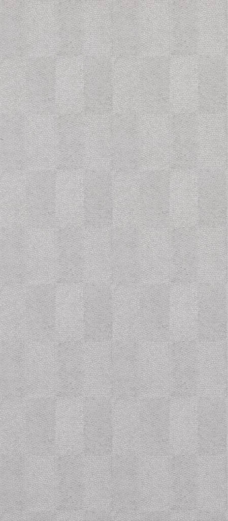 Sample Lamella Wallpaper in light gray from the Lucenta Collection by Osborne & Little