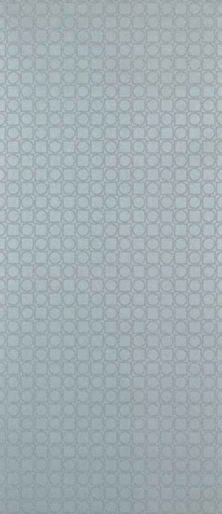 Sample Toto Wallpaper in pastel gray from the Manarola Collection by Osborne & Little
