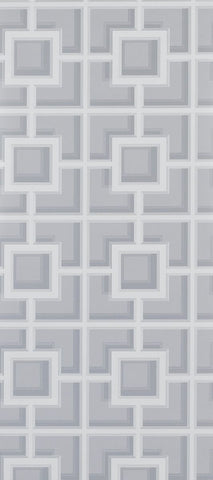 Camporosso Wallpaper in gray from the Manarola Collection by Osborne & Little