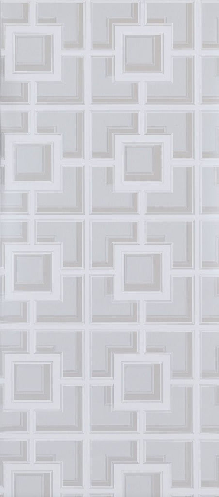 Sample Camporosso Wallpaper in light gray from the Manarola Collection by Osborne & Little