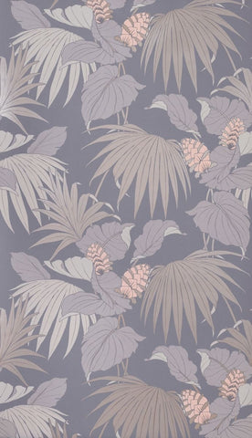 Vernazza Wallpaper in roman silver from the Manarola Collection by Osborne & Little