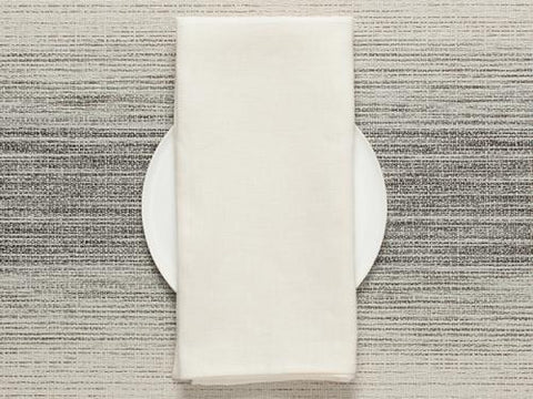Single Sided Square Napkins in Off White by Chilewich