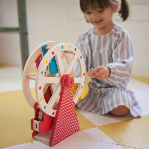 Carnival Play Set Wooden Ferris Wheel by Petit Collage