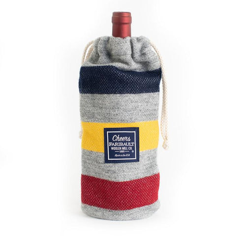 Frontier Gray Wine Bag
