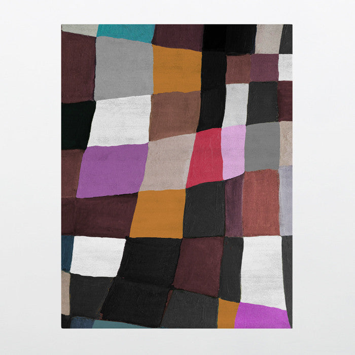 Withers Palette Collection 100% Wool Rug in Assorted Colors design by Second Studio