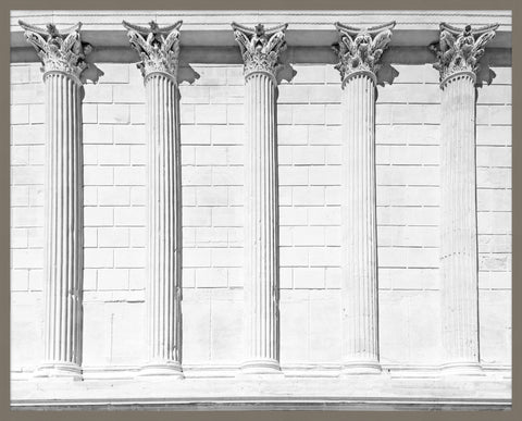 Classical Columns Wall Art design by Lillian August