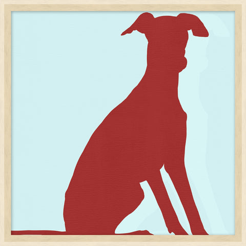 Colorful Whippet design by Thom Filicia