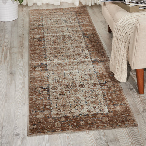 Malta Rug in Taupe by Kathy Ireland