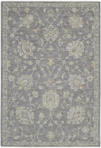 Infinite Rug in Charcoal by Nourison