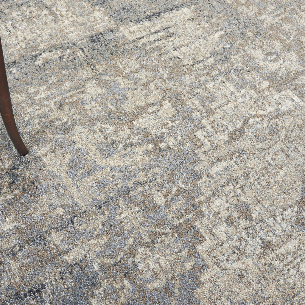 Moroccan Celebration Rug in Grey/Slate by Kathy Ireland