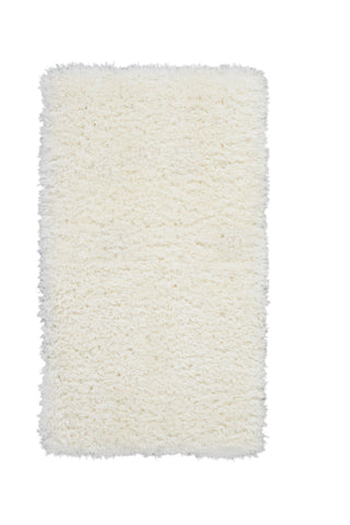 Luxe Shag Rug in White by Nourison