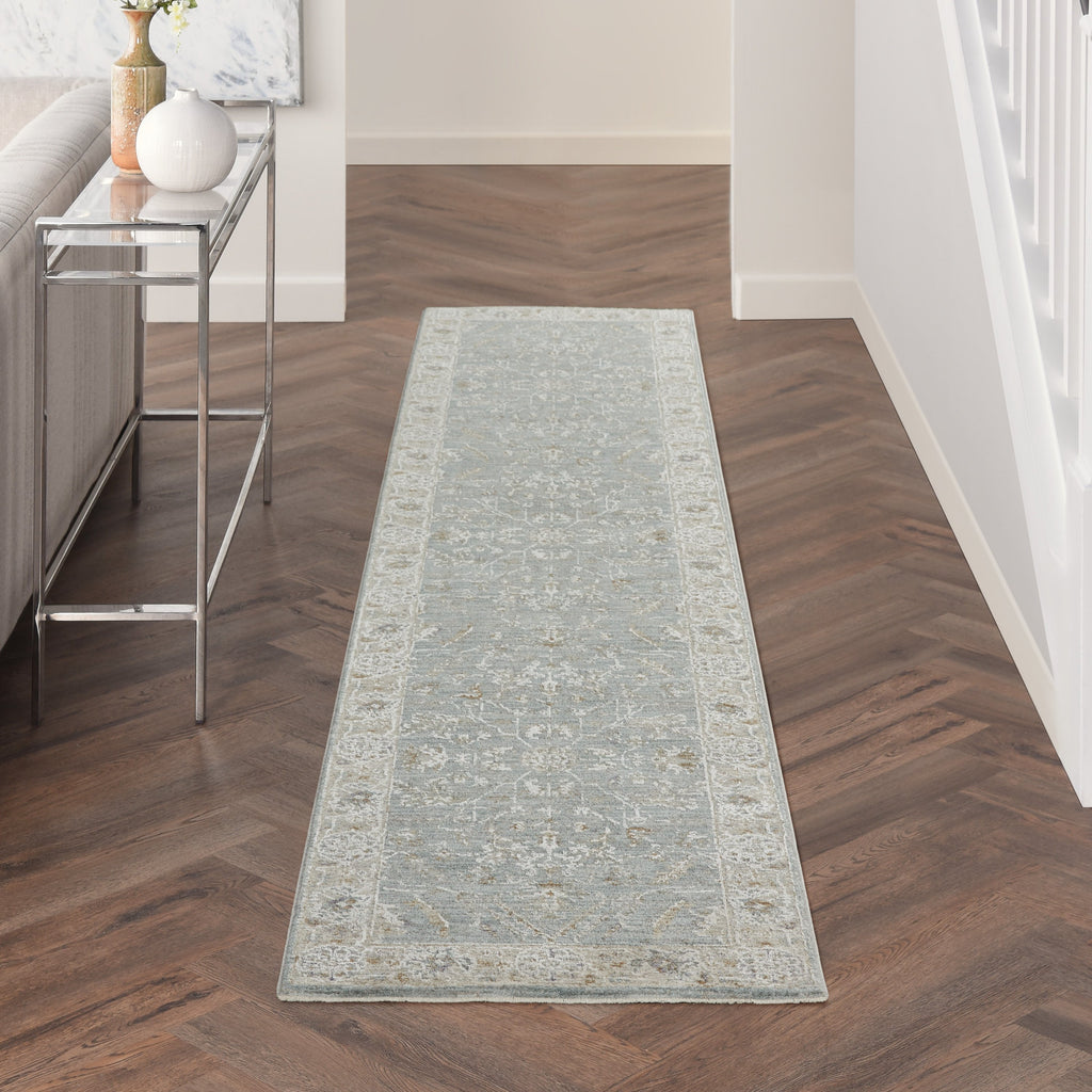 Infinite Rug in Blue by Nourison