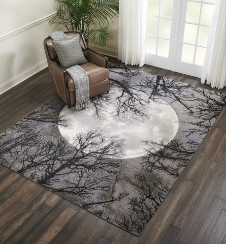 Twilight Rug in Moon by Nourison