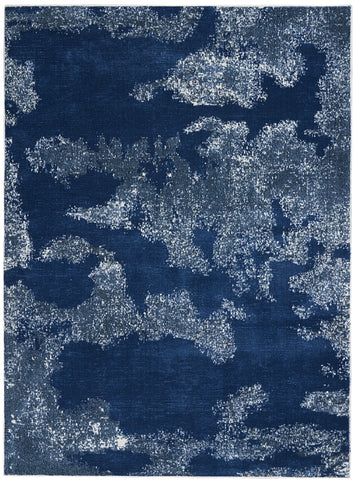 Etchings Rug in Blue by Nourison