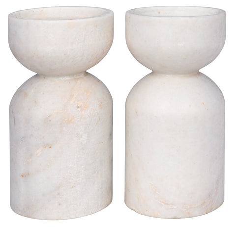 Elias Decorative Candle Holder in Various Colors