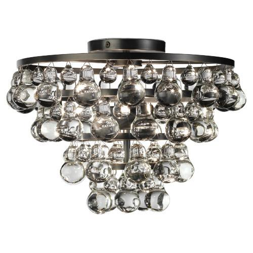 Bling Collection Flush Mount Chandelier by Robert Abbey