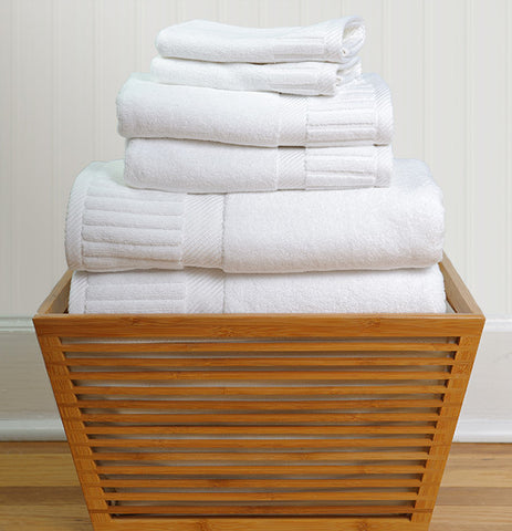 Set of 3 Zenith Bath Towels in Assorted Colors design by Turkish Towel CompanyZenith Complete Bath Set in Assorted Colors design by Turkish Towel Company