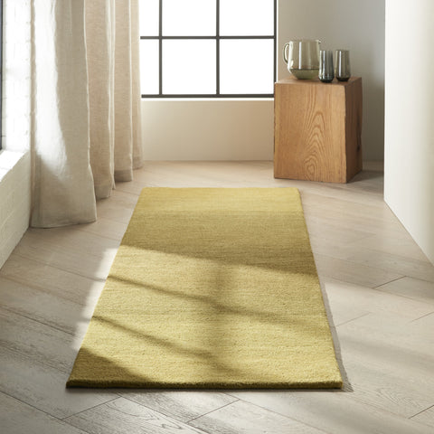 Linear Glow Rug in Verbena by Calvin Klein