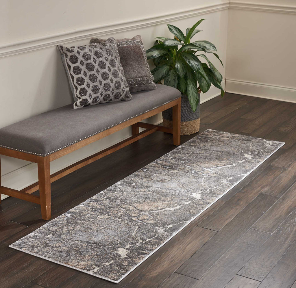 Heritage Rug in Grey by Kathy Ireland