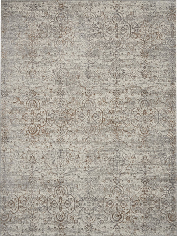 Royal Terrace Rug in Beige by Kathy Ireland