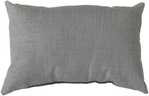 "Storm 13"" x 20"" Outdoor Pillow in Grey"