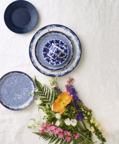 Ostindia Floris Cereal Bowl Design by Anna Lerinder X Caroline Slotte for Iittala