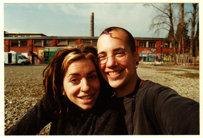 Ani and Heidi in 1999