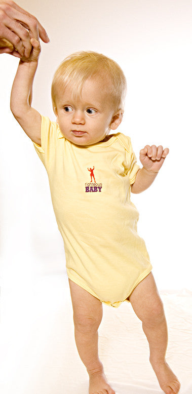 Squirmer Onesie- Yellow