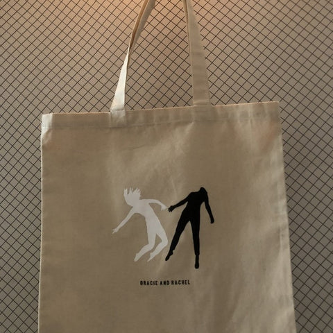 Gracie and Rachel - Canvas Tote Bag