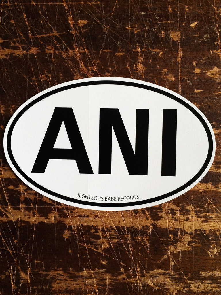 Ani Auto Sticker