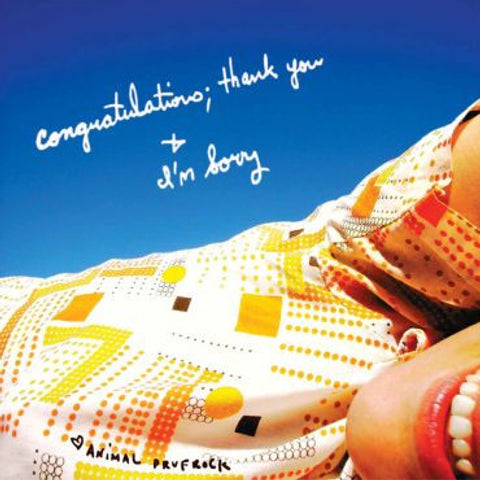 Animal Prufrock-Congratulations; Thank You + I'm Sorry Vinyl