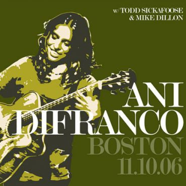 Ani DiFranco Boston 11.10.06
