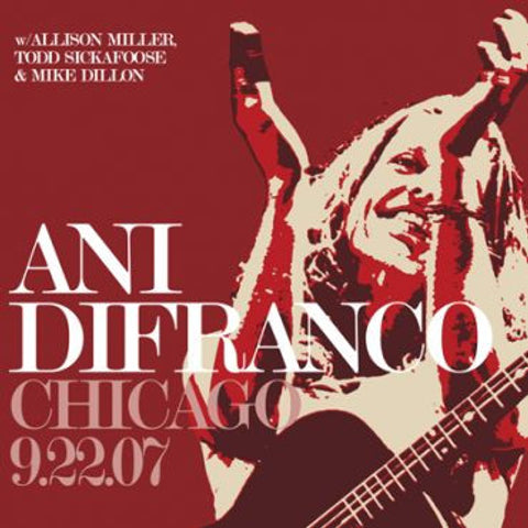 Ani DiFranco Chicago 9.22.07