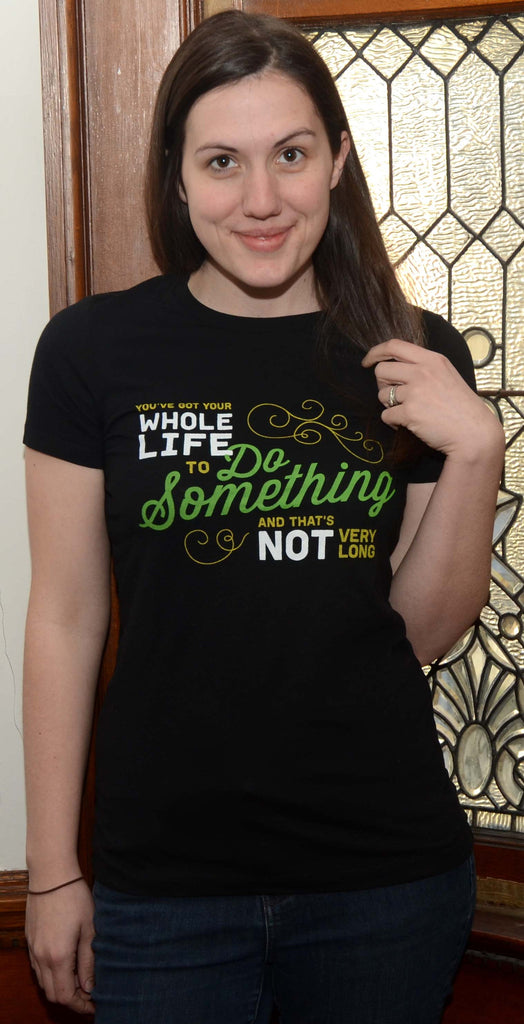 Do Something Tee fitted