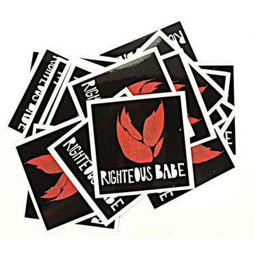 righteous flame sticker