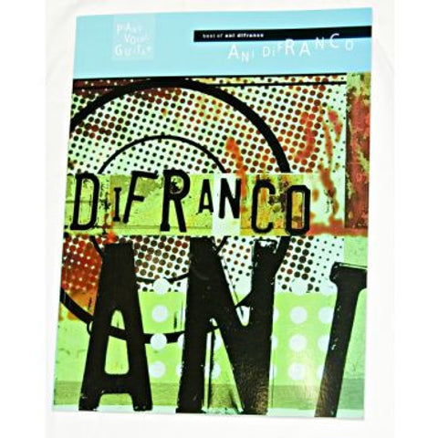 Best of Ani DiFranco Songbook (Piano/Vocal/Guitar)