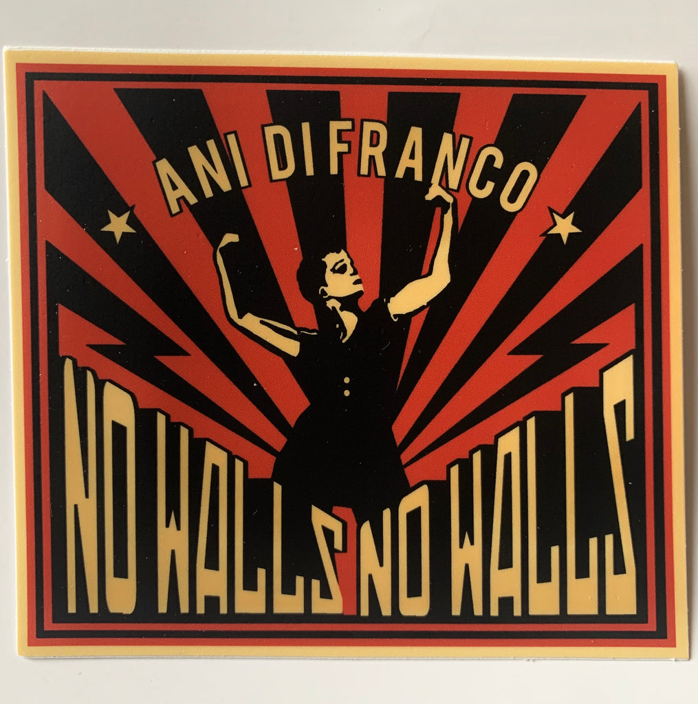 No Walls sticker