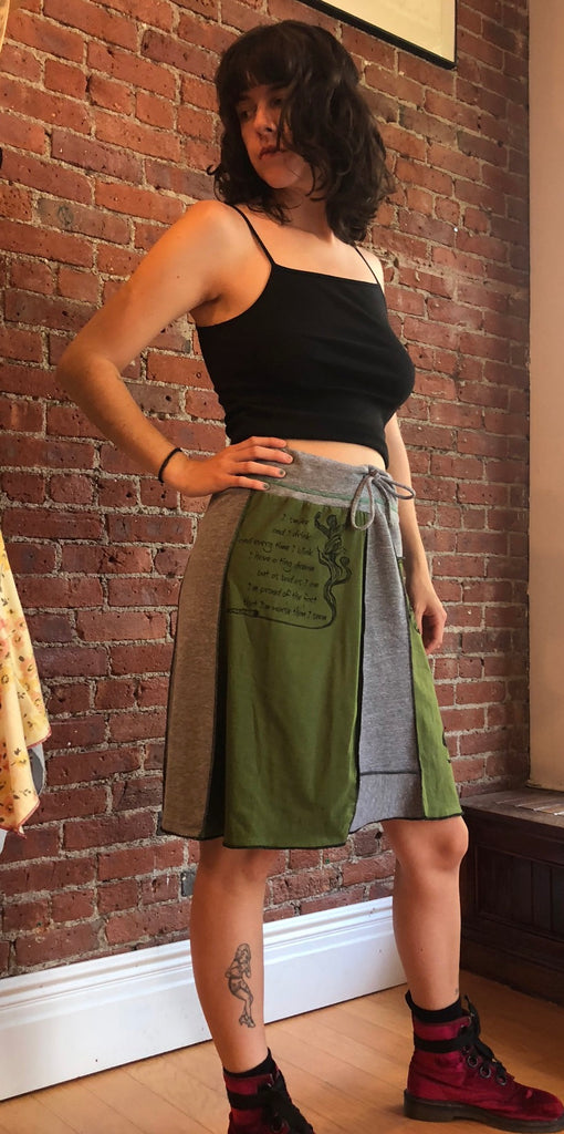 Grey Skirt M-XL