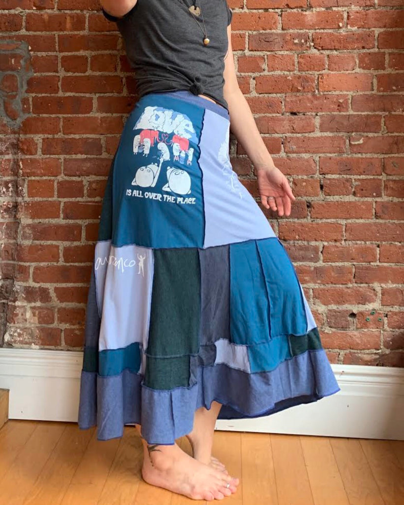 Smile Pretty Patchwork Skirt