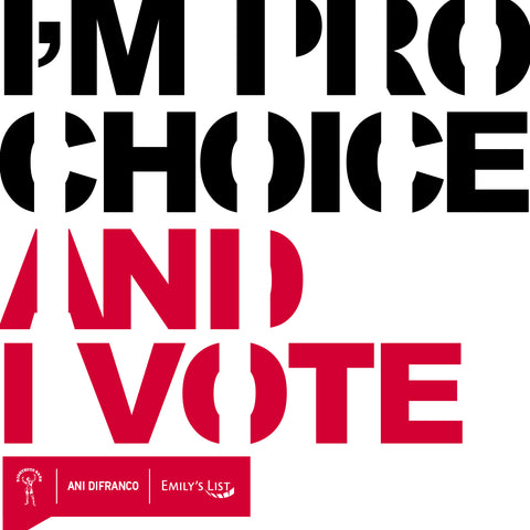 I'm Pro-Choice and I Vote T-Shirt