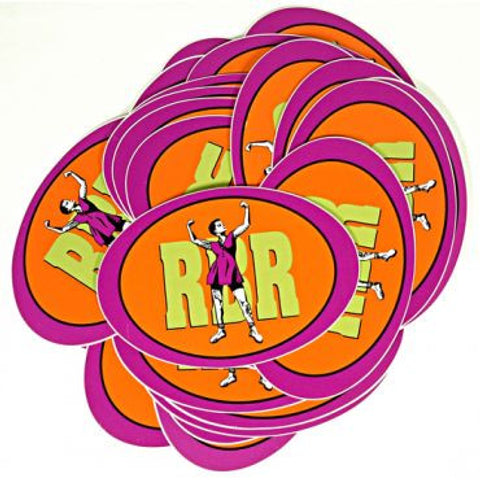 rbr oval sticker