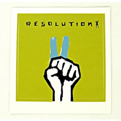 resolution sticker